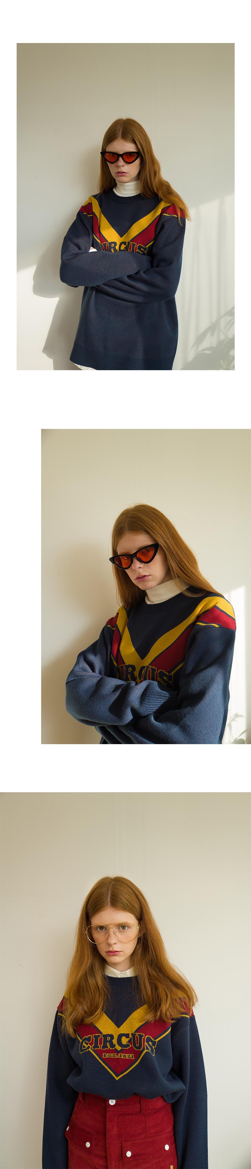 메인부스(MAINBOOTH) Finale Sweater(YELLOW)