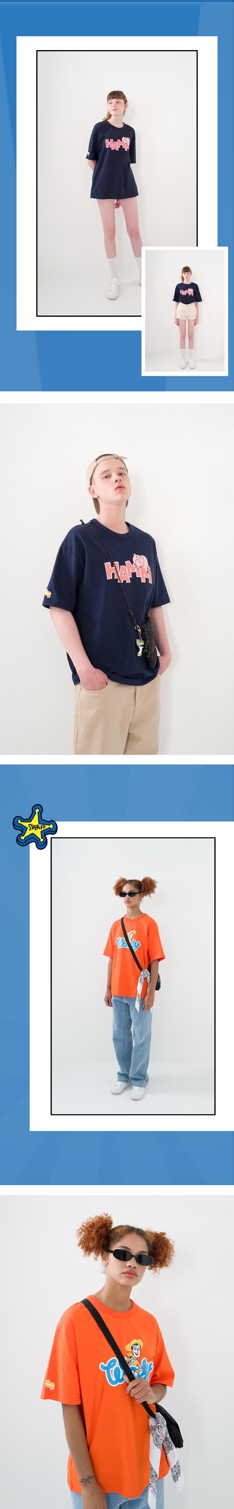 메인부스(MAINBOOTH) Toy Story T-shirt(NAVY)