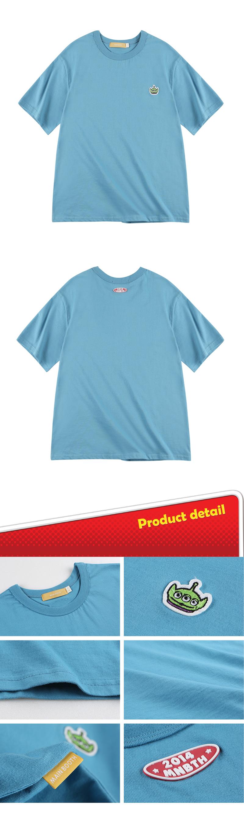 메인부스(MAINBOOTH) Toy Face Basic T-shirt(BLUE)