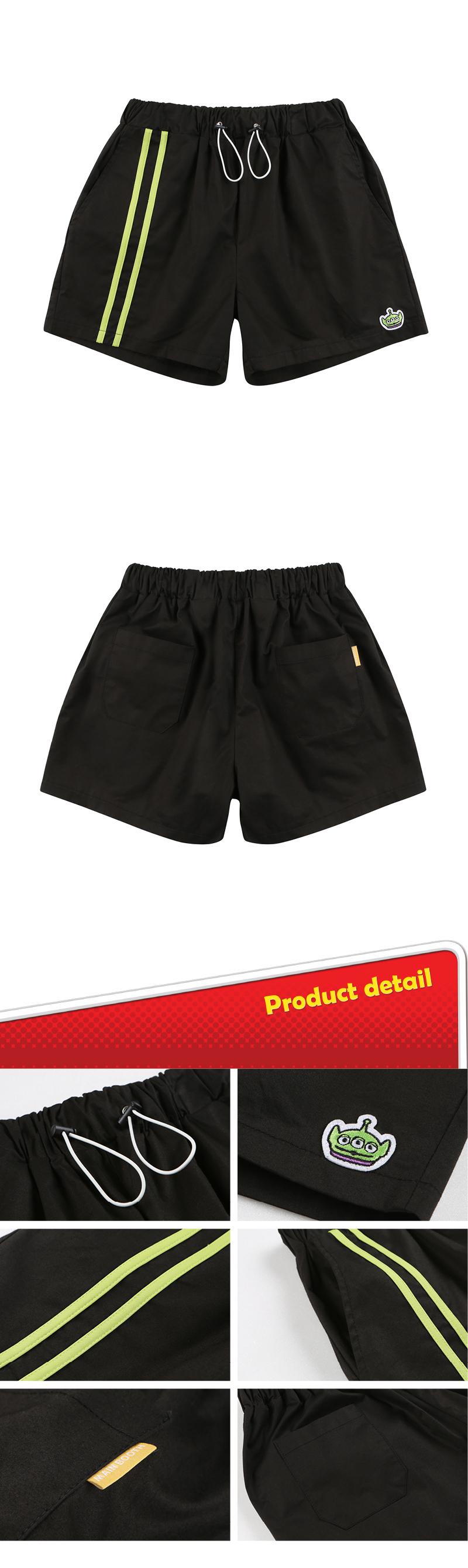 메인부스(MAINBOOTH) Toy Story Pants(BLACK)